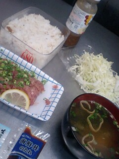 today's lunch0727