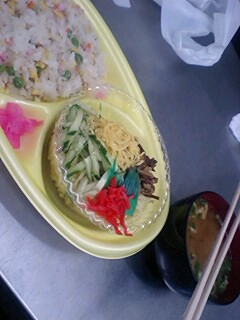 today's lunch0729